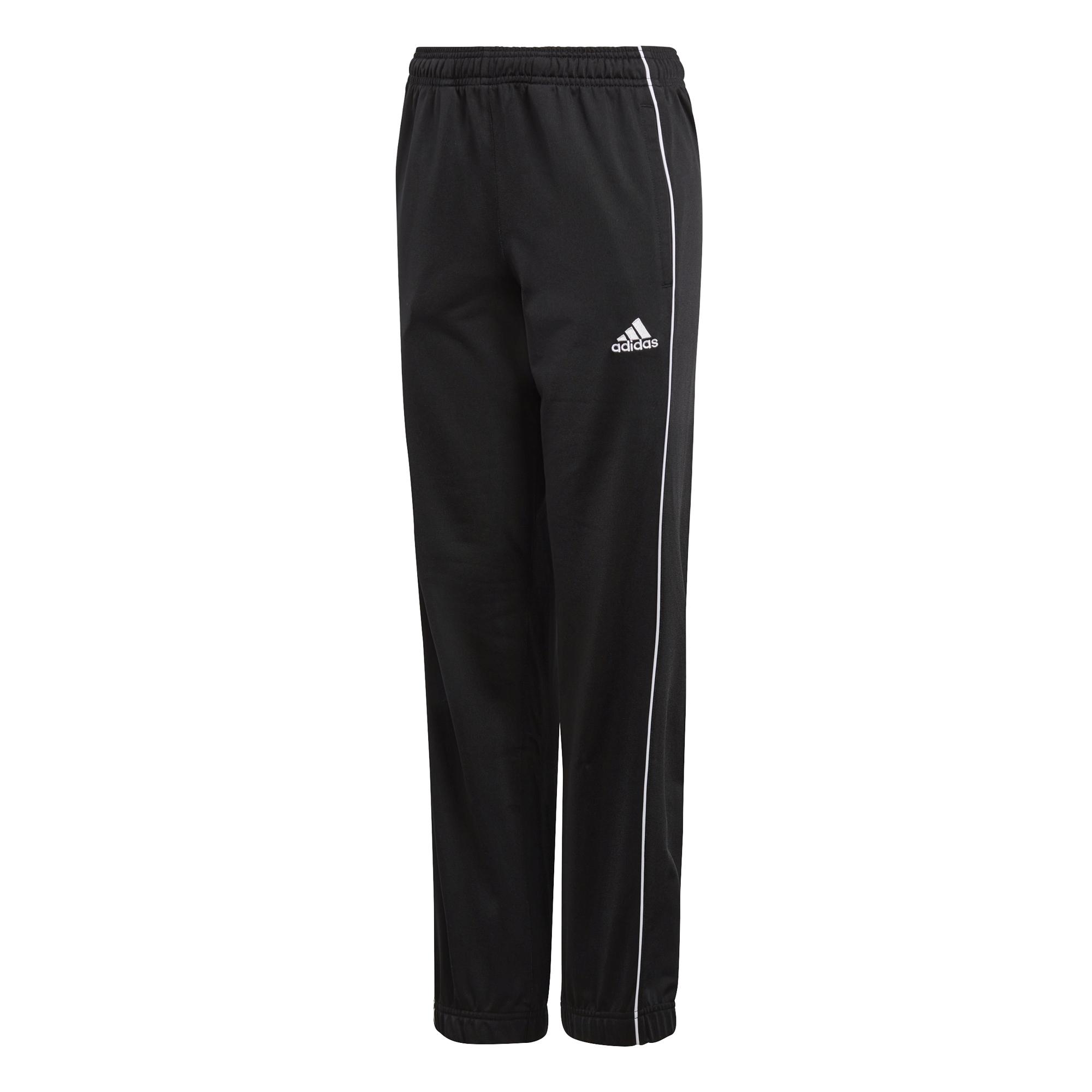 ADIDAS polyesterové kalhoty Core 18 dětské