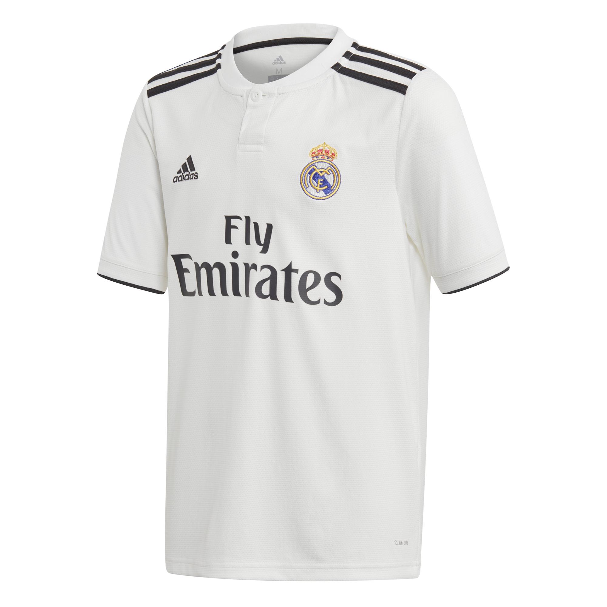 ADIDAS dres Real Madrid domácí 2018/2019 dětský
