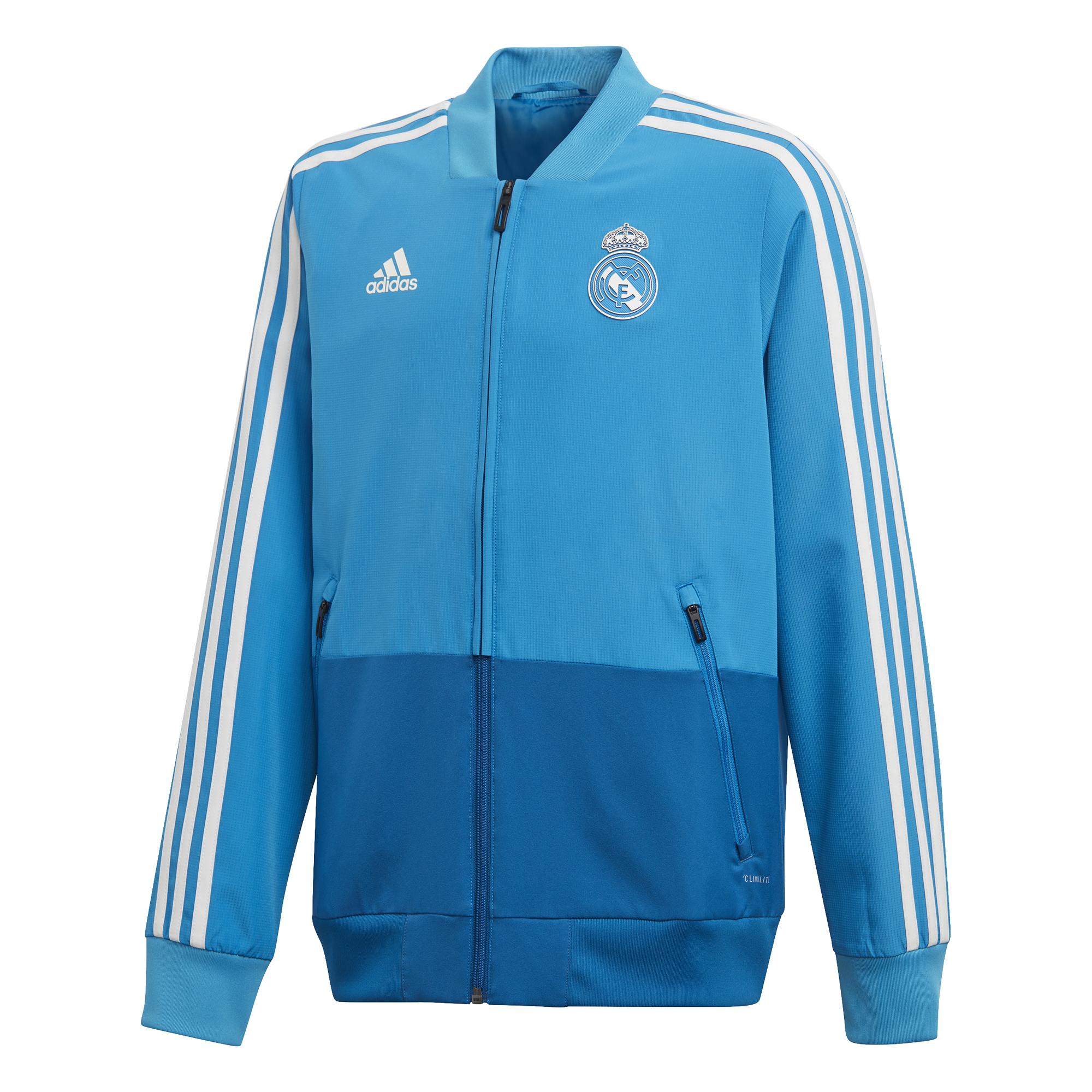 ADIDAS polyesterová bunda Real Madrid dětská